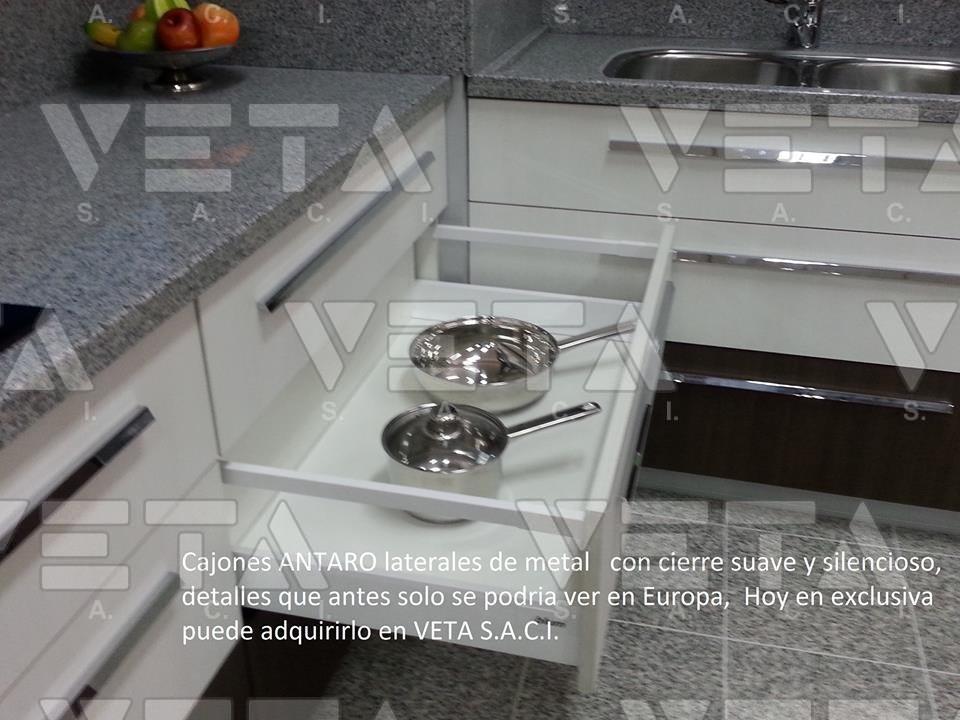 Accesorios para muebles de cocina - VETA S.A.C.I.