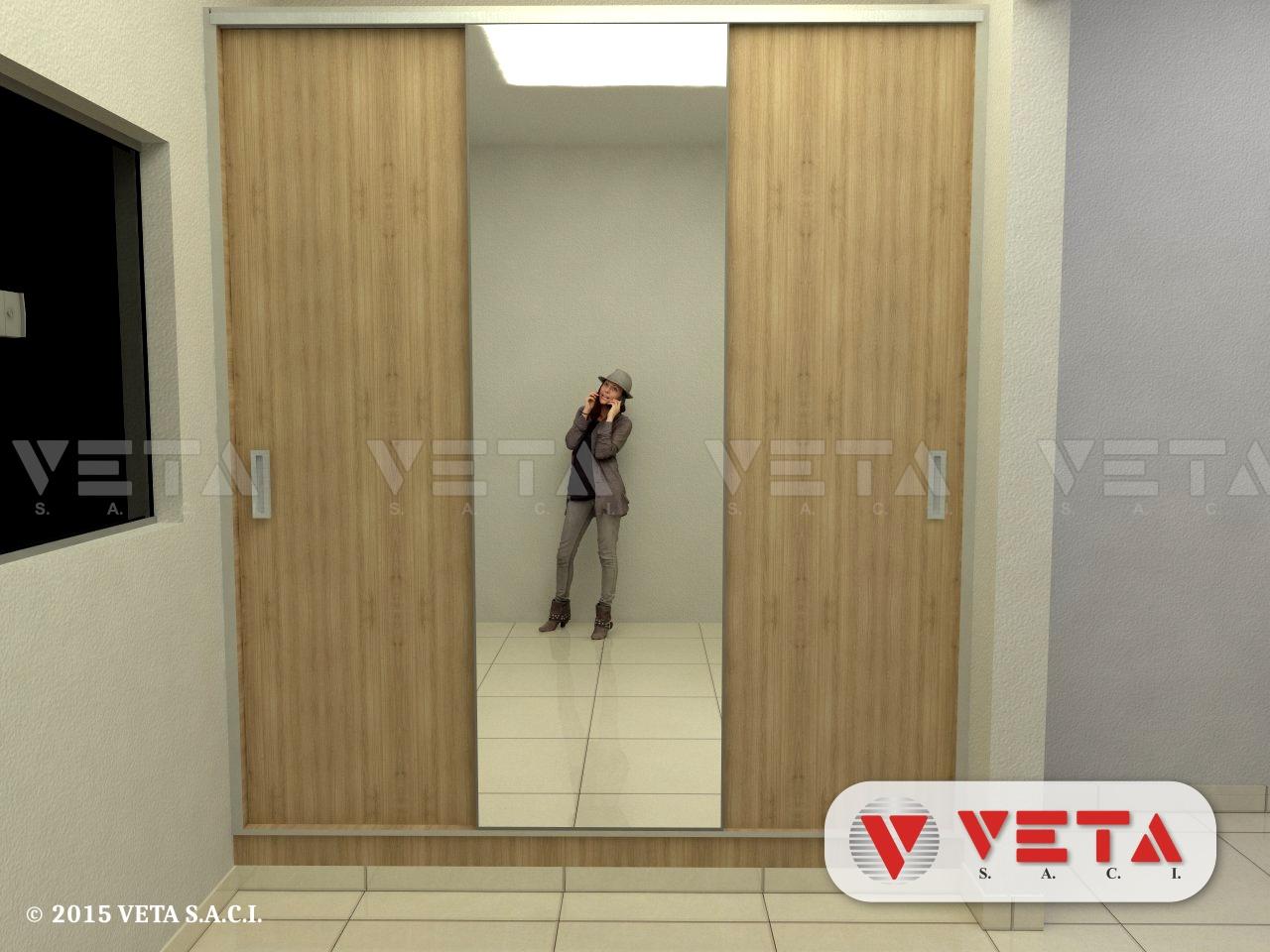 Vestidores para dormitorios - VETA S.A.C.I.