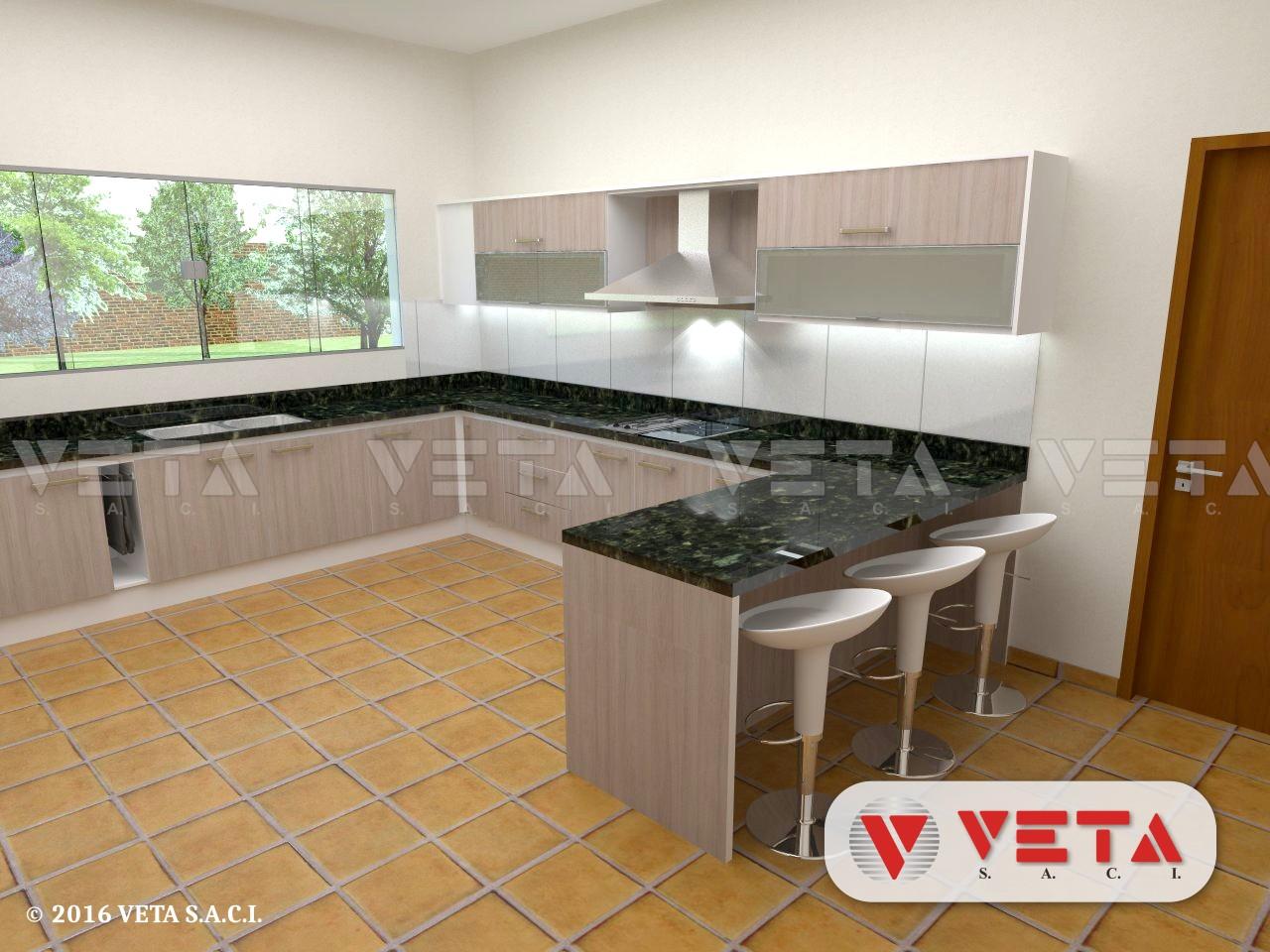 Antes de proyectar su cocina - VETA S.A.C.I.