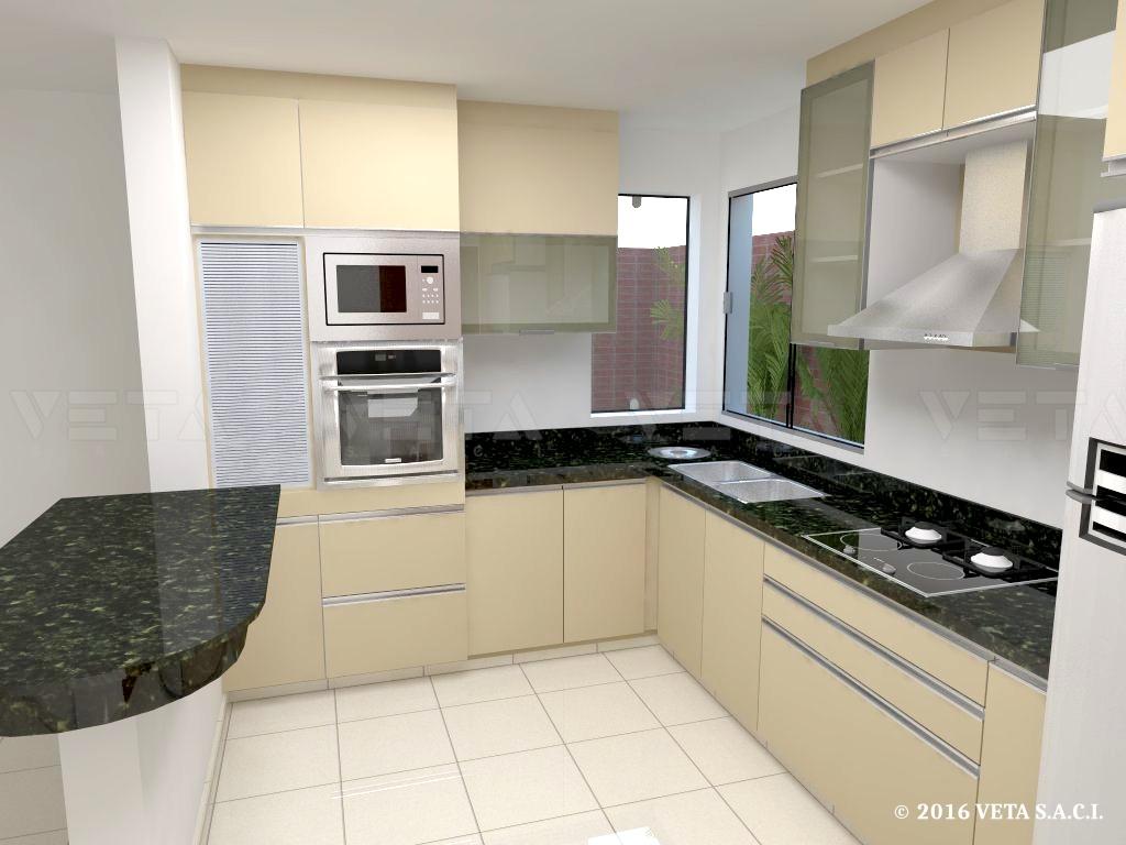 Nuevas tendencias en colores de muebles de cocina veta s - Ultimas tendencias en cocinas ...