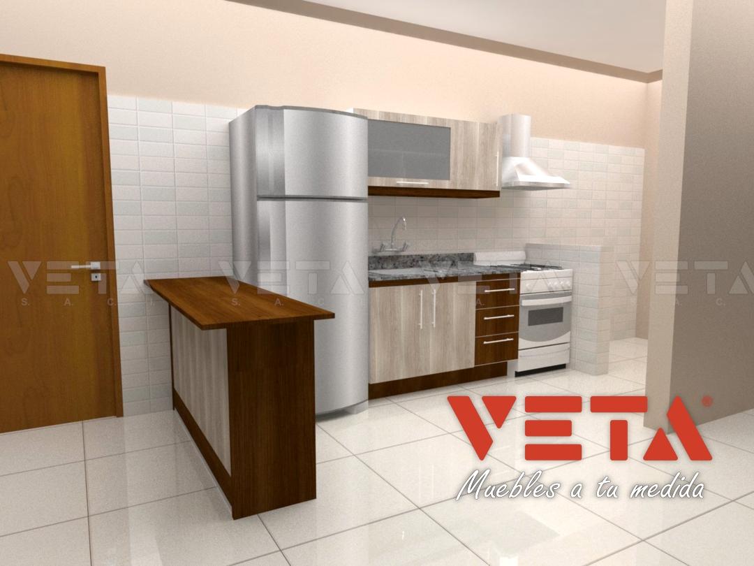 muebles de cocina para departamentos veta s a c i